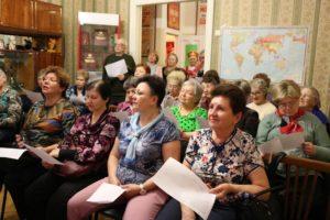 Воронежские пенсионеры отметили День космонавтики в музее