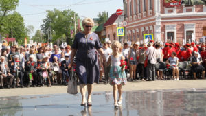 Чаплыгинцы отметили 74-ую годовщину Великой Победы