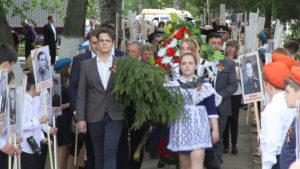 В Мичуринском районе Тамбовской области отпраздновали годовщину Великой Победы