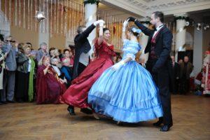 В рамках проекта «Активное долголетие» в Воронеже впервые прошел Рождественский бал пенсионеров