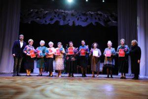«Серебряные» волонтеры приняли участие в проведении Рождественского бала пенсионеров