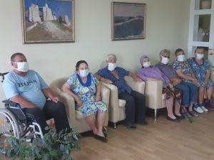 В воронежских интернатах для пожилых и инвалидов продолжаются онлайн-встречи