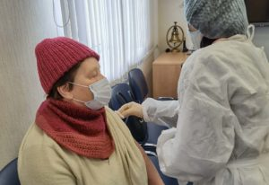 Участники проекта «Активное долголетие» прошли вакцинацию против Covid-19